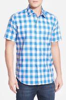 Robert Graham 'Stall' Classic Fit Short Sleeve Sport Shirt NWT,  L