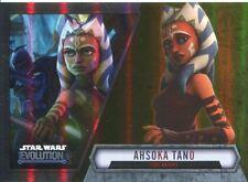 Star Wars Evolution 2016 Gold Parallel Card #11 Ahsoka Tano
