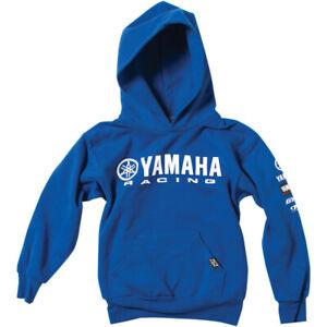 Factory Effex Youth Yamaha Racing Hoodie (Blue) Choose Size