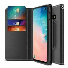 Samsung Galaxy S10e Case Wallet w/ Card Slot Side Pocket Magnetic Closure