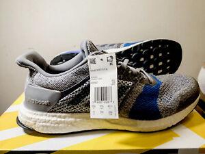 Adidas Ultraboost ST Grey Navy Blue Size 11 B37697 New W/ Factory Box Mens