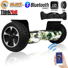 8.5'' Hummer Bluetooth Hoverboard Self Balancing Scooter Ul2272 Bag Cmouflage