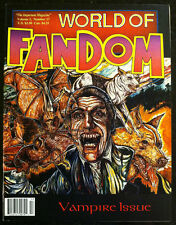 WORLD OF FANDOM Fanzine 1993/Twin Peaks, Candyman, KISS, John Landis, Manny Coto