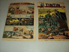 TINTIN 1947/24 (12/6/47) EDGAR P JACOBS LE SECRET DE L'ESPADON HERGE