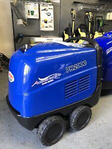 Mazzoni PH2000Hot Steam Cleaner Pressure Washer Inc Vat . £13 P/week On Lease