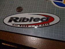 RIBTECT Sticker / Decal  Automotive  ORIGINAL PERFORMANCE OLD STOCK