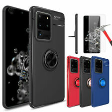 For Samsung Galaxy S20 Ultra/Note 9/S10 Plus Case Ring Holder / Screen Protector