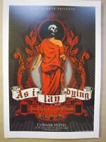 As I Lay Dying @ The Corner Melbourne 2006 Concert Poster Art Joe Whyte