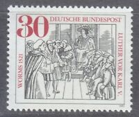 Germany 1971 MNH Mi 669 Sc 1063 Martin Luther.Diet of Worms.Emperor Charles V **