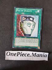 Yu-Gi-Oh ! SDOK-EN027 Pot of Duality 1st Edition Magic Card