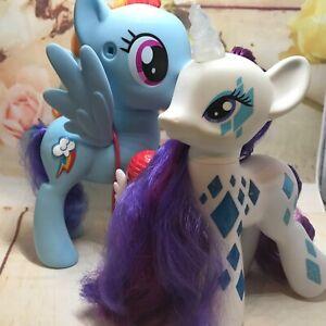 My Little Ponies Light Up Rarity talking Rainbow Dash (AS)