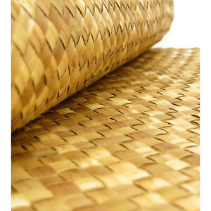 * 4ftx 8ft Lauhala Cabana Matting Wall Covering & Ceiling Mat Tiki Thatch Bar