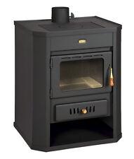Poêle à bois cheminée multi CARBURANT brûleur Foyer CERAMIC verre 15kW PRITY WD