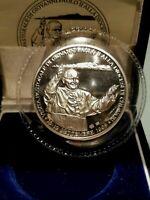 Vaticano Giovanni Paolo II medaglia per la visita pastorale a chiavari 1998