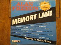 Various Artists - Alan Freed's Memory Lane - 1962 End LP 314 Vinyl LP VG+/VG+
