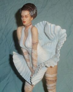 BRIDE OF FRANKENSTEIN IN ICONIC MARILYN MONROE POSE 1/6 RESIN MODEL KIT FIGURE