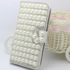 For LG Stylo 5/ 5V/5X 5 PLUS Bling Magnetic leather flip wallet Phone cover case