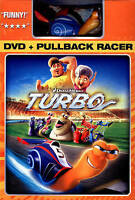 Turbo (DVD, 2013, With Toy Racer) New  Children Animated