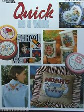 Cross Stitch Pattern BIG Book QUICK As A WINK ~ 250 Motifs Mixed Designs