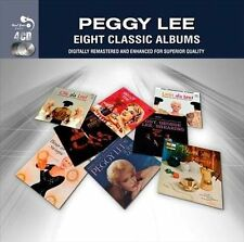 Eight Classic Albums by Peggy Lee (Vocals) (CD, 2012, 4 Discs) Free Shipping!