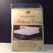 New Better Homes Fitted Plastic Mattress Cover Full