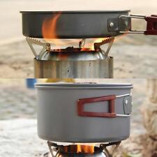 LIXADA Outdoor Stainless Steel Lightweight Wood Stove Alcohol Stove Burner X2K2