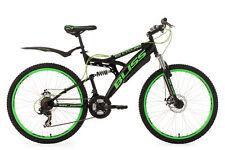Mountainbike Fully 26 Zoll 21-Gang Bliss Schwarz-Grün MTB vollgefedert 534M