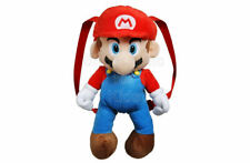 SFK Nintendo Super Mario Plush Backpack school diaper bag toddler nursery