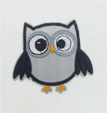 Lovely  owl 1pcs clothes On Patch Badge Bag Clothes Fabric Applique