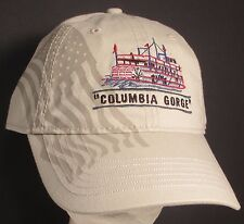 Columbia Gorge Hat Cap Paddle Wheel Steamboat River Oregon USA Embroidery New