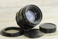 HELIOS 44-2  2/58 + adapter M42 Canon Lens Best Russian Lens