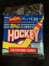 NHL Topps 1991 Hockey 40 picture cards pack - Never opened