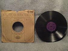 """78 RPM 10"""" Record Walter Dombkowski Wesole Czasy & Wesole Chlopcy Polish 25-9173"""