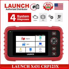 LAUNCH X431 PRO CRP123X OBD2 Diagnostic Scanner Tool Auto Car Code Reader Reset