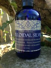 Pure Colloidal Silver - Premium Quality - Powerful Anti-Microbial 20ppm 100ml
