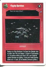 Star Wars CCG Second Anthology White Border Preview Flagship Operations