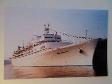 ss Queen Of Bermuda . Star Line Ocean Liner Cruise Ship Sea Boat NY ss Brasil