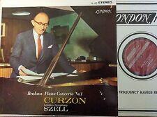 CS 6329 Curzon Szell London Symphony Brahms NM