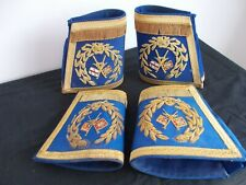 More details for masonic grand officers cuffs two pairs