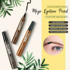 3D Microblading Liquid Eyebrow Fork Tip Pen Eye Brow Long Lasting Makeup Pencil