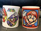 2 X Super Mario Nintendo Small Mug Cups - Bonbon Buddies 2014 / 2013 Yoshi Toad
