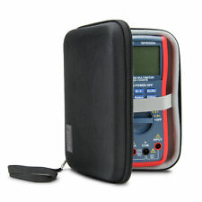 Hard Protective Digital Multimeter Travel Case with Storage for Probes and Leads