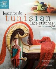 Learn To Do Tunisian Lace Stitches  With Interactive DVD  Annie's Attic