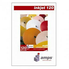 AMPS A4 120gsm Inkjet Matte Coated Photo Paper (50 Sheets)