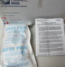 Dessicant, Mil-D-3464, Twelve pounds plus - Free Shipping !