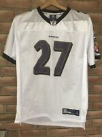 NFL Baltimore Ravens On Field Reebok #27 Ray Rice Jersey YOUTH Large (14-16)