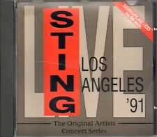 Sting ‎– Los Angeles '91 CD 1993