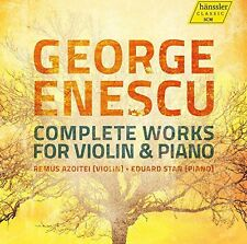 Comp Works For Vln & Pno - George Enescu / Azoitei /  (2014, CD NIEUW)2 DISC SET