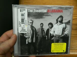 SEALED BRAND NEW CD MUSIC ALABAMA THE ESSENTIAL