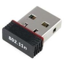 DYNAMODE 150N Nano USB 2.0 Wireless Adapter, Black (WL-700N-RXS) NEW